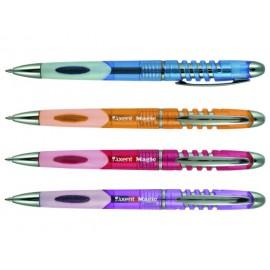 Ручка шариковая автоматическая AXENT Magic/фиолетовая