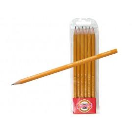 Набор графитных карандашей К-I-N 6шт / 2H-2B