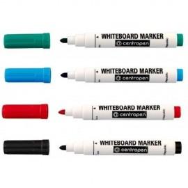Набор маркеров для доски Centropen 8559/4 цвета
