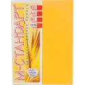 Папір кольоровий насичений М-Стандарт/золотий/100ар./80г/м