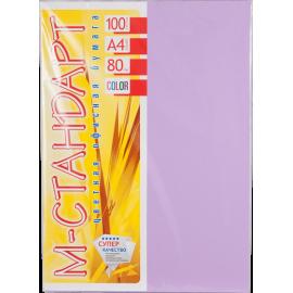 Папір кольоровий насичений М-Стандарт/фіолетова/100ар./80г/м
