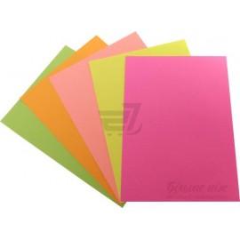 Папір кольоровий неон рожевий/100ар./80г/м