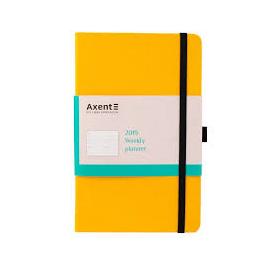 Щотижневик 2020/А5/AXENT Partner Flex/125*195/жовтий