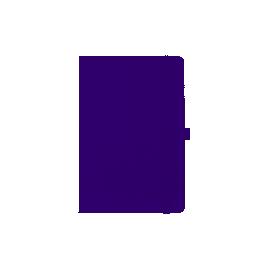 Щотижневик  напівдатований2020/А5/AXENT Partner Strong125*195/фіолетовий