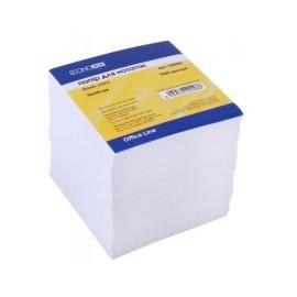 Блок проклеєний білий  85мм*85мм*500арк.