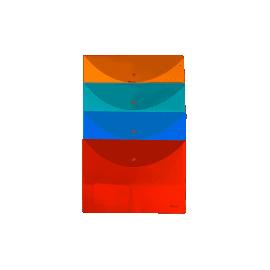 Папка А-4 на кнопці/пластик/