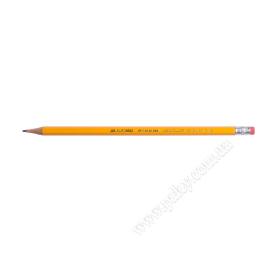 Олівець простий/дерево/НВ/гумка/3098граф.