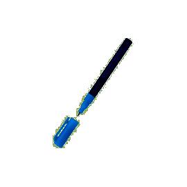Маркер перман./круглий 1мм/2846CENTROPEN/синій
