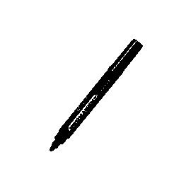 Маркер перман./круглий 2.5мм/8510CENTROPEN/чорний/невисихає 14 діб