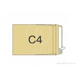 Конверт 322*228мм.білий(SPC 4A)без захисту/бічний клапан