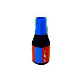 Фарба штемпельна/28мл/синя/KORES