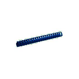 Пружина пласмасова/28мм/50шт./синя