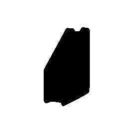 Лоток вертикальний/чорний/31901