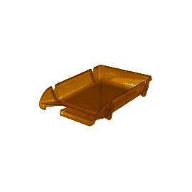 Лоток горизонтальний/димчатий/Axent/4001