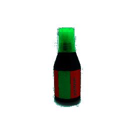 Краска штемпельна /28мл/зелена/KORES