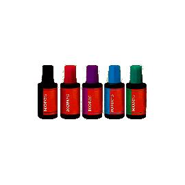 Фарба штемпельна/28мл/фіолетова/KORES