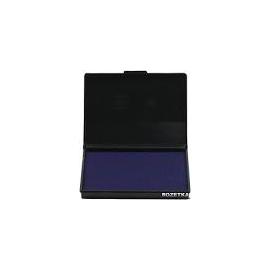 Подушка штемпельна /90*50мм/синя/9051