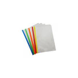 Швидкозшивач/планка/пластик/прозорий/2-35арк.