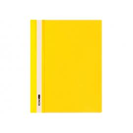 Швидкозшивач/пластик/жовтий