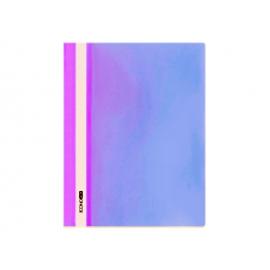 Швидкозшивач/пластик/фіолетовий