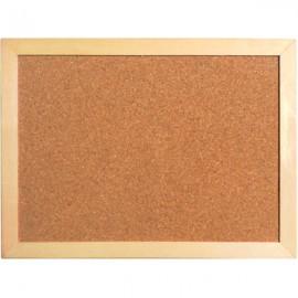 Дошка коркова/AXENT/45х60 см., дерев'яна рамка
