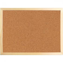 Дошка коркова/AXENT/60х90 см., дерев'яна рамка