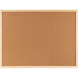 Дошка коркова/AXENT/90х120 см., дерев'яна рамка