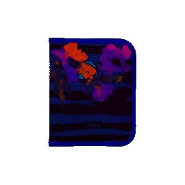 Папка об'ємна на блискавці, В5, Flowers