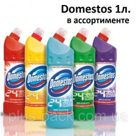 Засіб д/чищення сантехніки Доместос в асорт. 1л (12шт/пак)