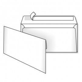 Конверт білий євро 220*110мм.(Е65)без захисту