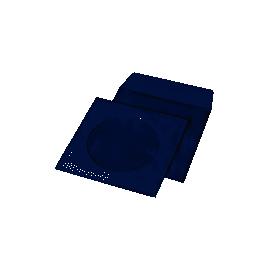 Конверт под CD 127*127мм.білий з вікном